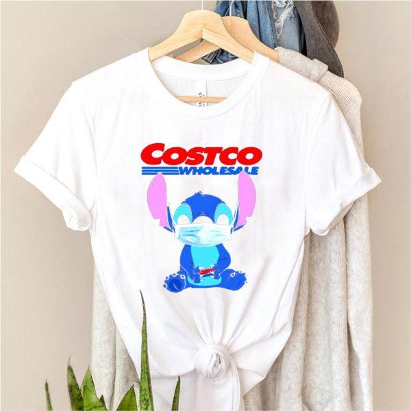 Baby stitch face mask hug costco wholesale logo shirt