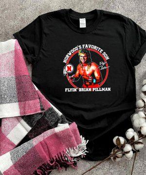 Brian Pillman Norwood's favorite son shirt