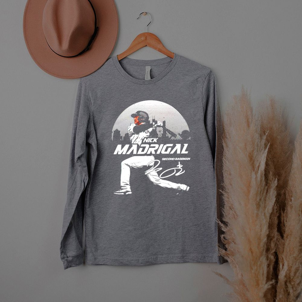 Chicago Baseball Nick Madrigal second baseman signature shirt