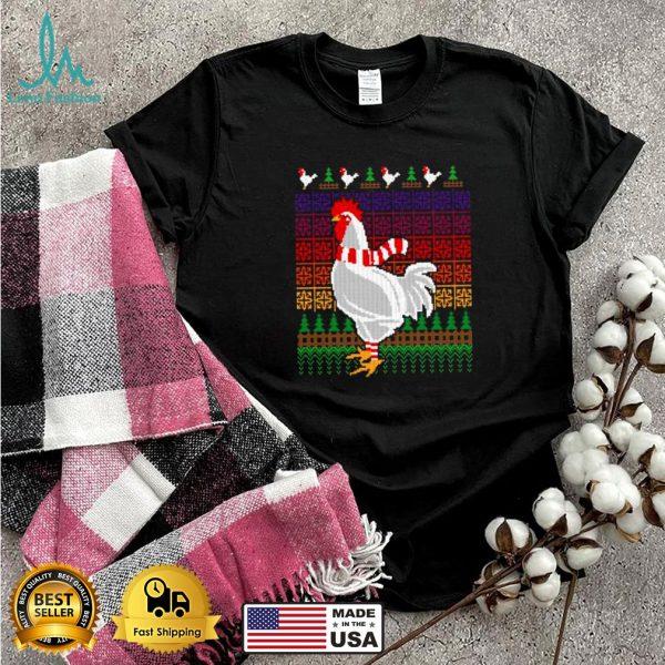 Chicken Lover Ugly Christmas X Mas Shirt
