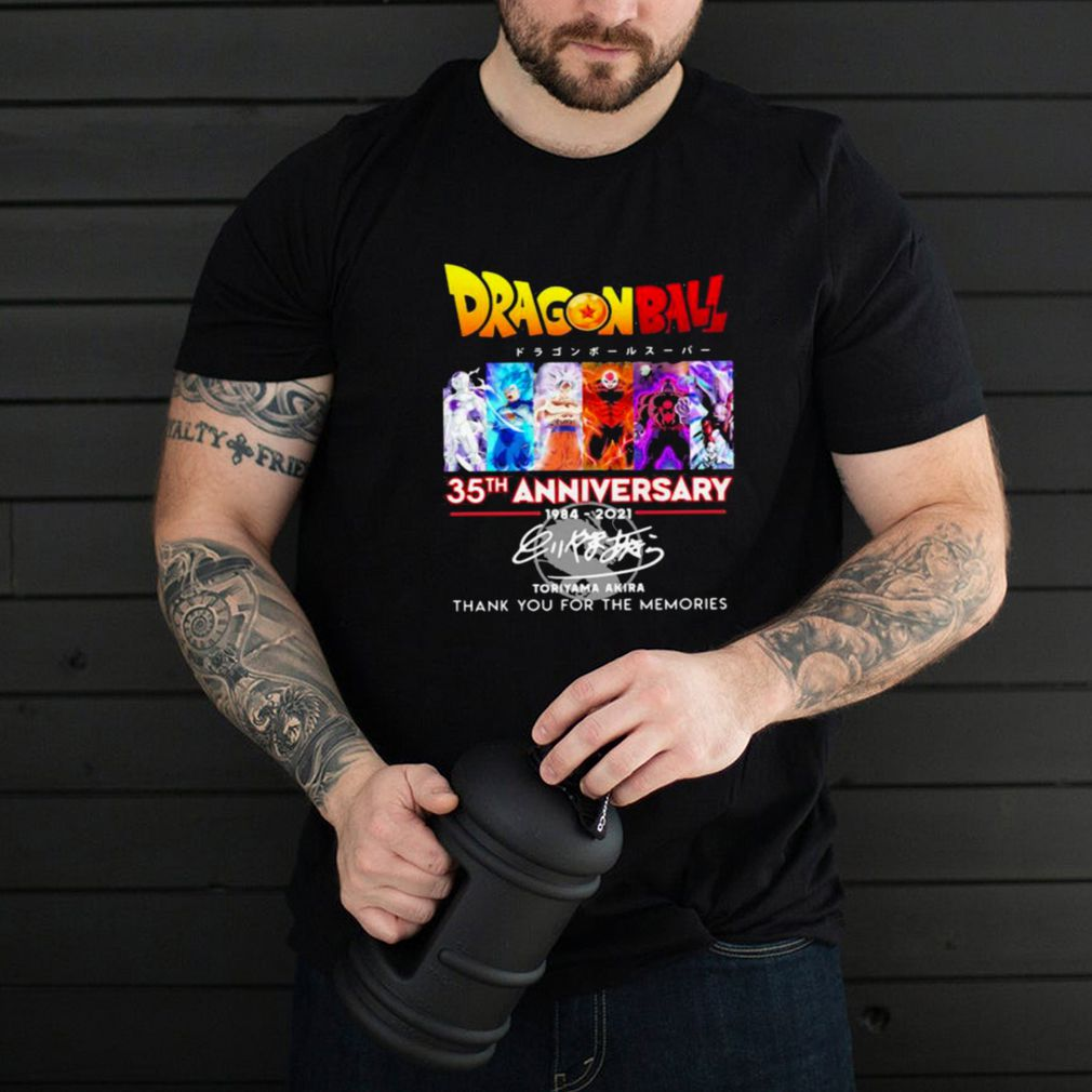 Dragon Ball 35th Anniversary Thank You For The Memories shirt