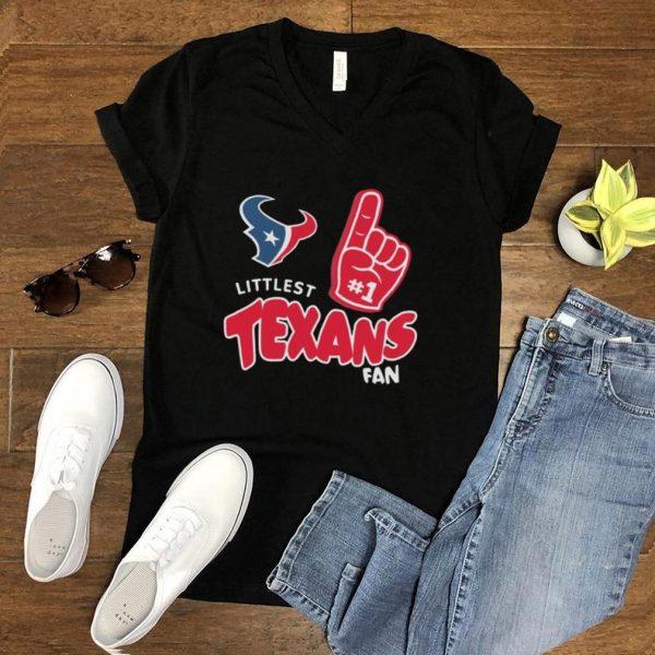 Houston Texans infant littlest fan shirt
