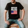 Impeach Nancy Pelosi American Flag Pro Trump Shifty Schiff shirt