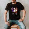 Magic Johnson Michael Jordan Larry Bird signatures shirt