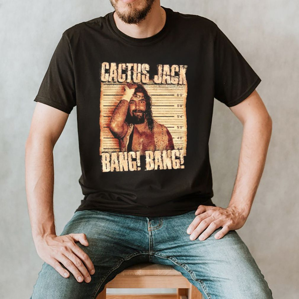 Mick Foley Mug Shot shirt