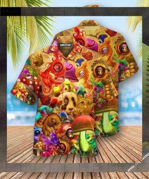 Mushrooms Dream Illusion Edition - Hawaiian Shirt