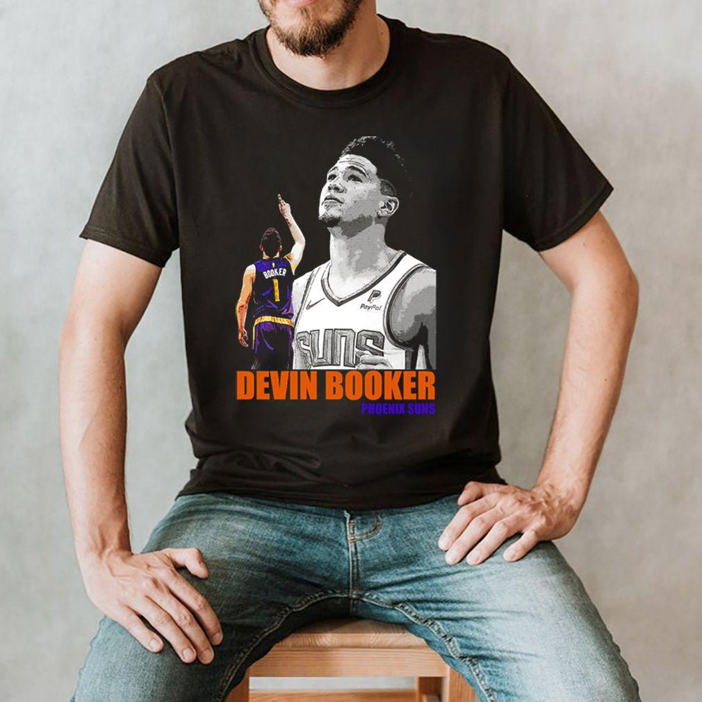 Number 1 Devin Booker Phoenix Suns signature shirt