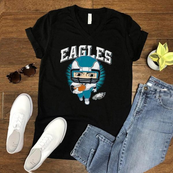 Philadelphia Eagles preschool gummy player shirt