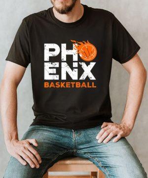 Phoenix Basketball B Ball City Arizona Fan Pride T Shirt