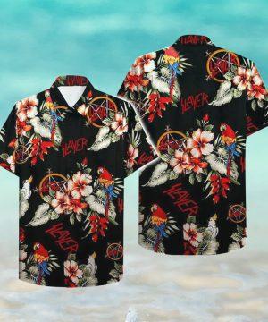 Slayer Hawaii Hawaiian Shirt Fashion Tourism For Men Shirt