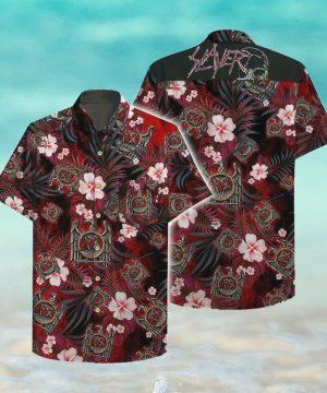 Slayer Hawaii Hawaiian Shirt Fashion Tourism For Men, Women Hawaiian Shirts