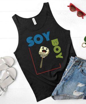 Soy Boy Funny Vegan T Shirt