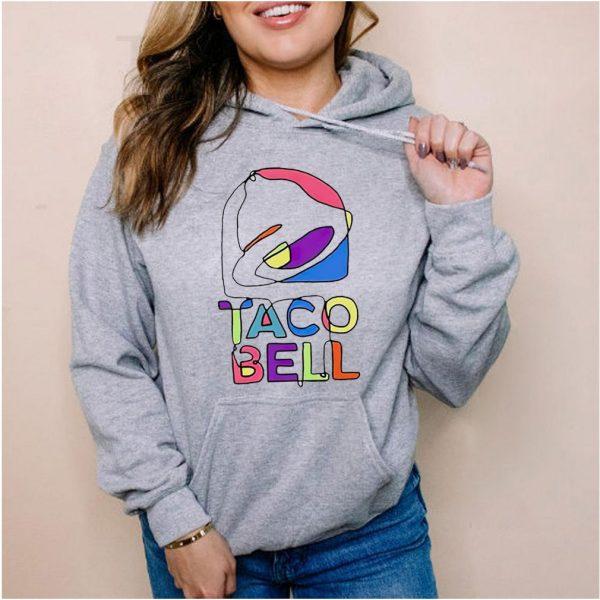 Taco Bell trippy logo shirt