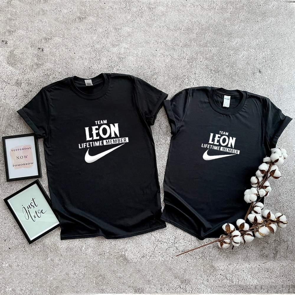 Team leon lifetime member shirt 5