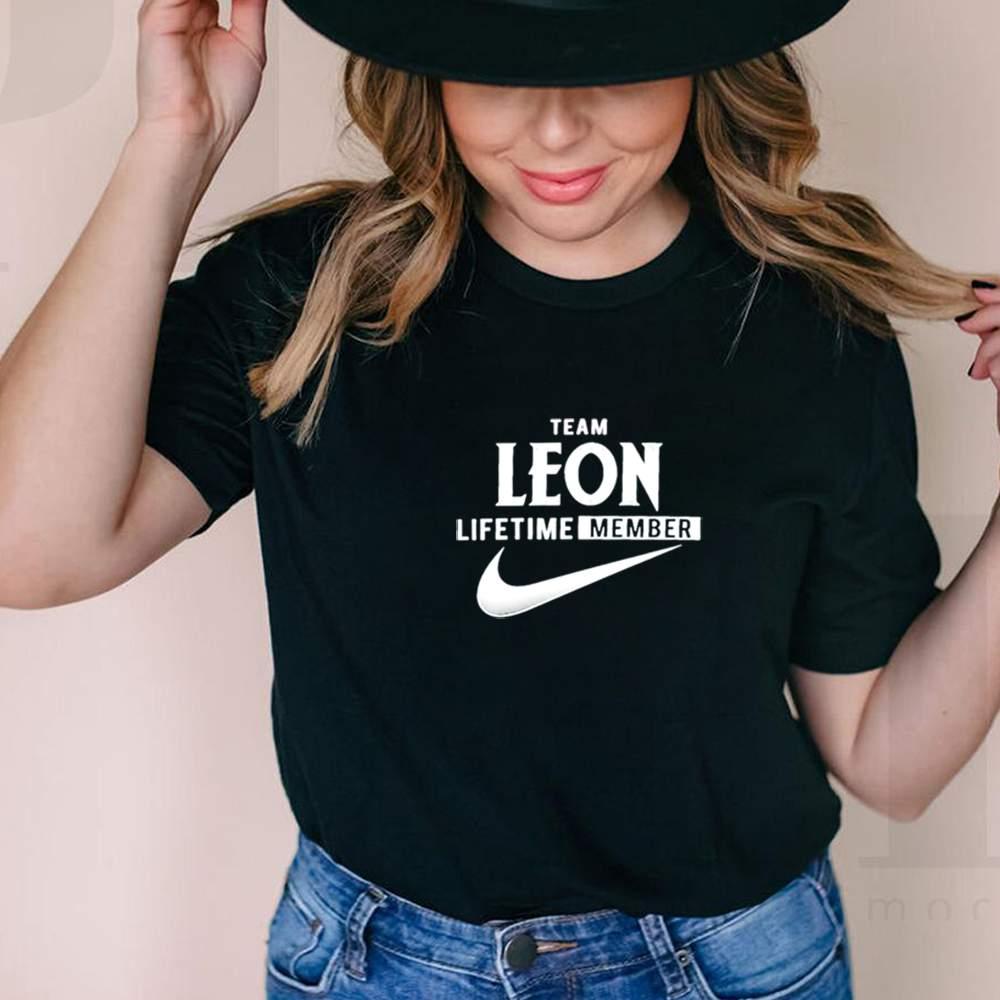 Team leon lifetime member shirt 6