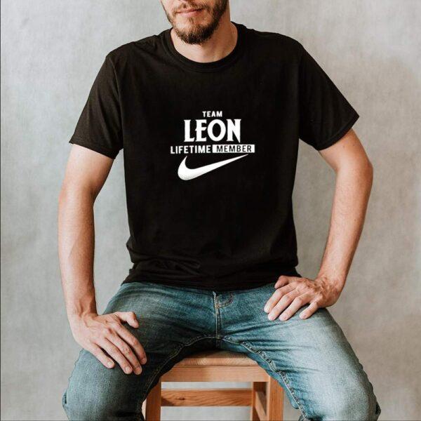 Team leon lifetime member shirt