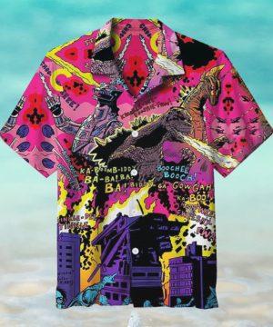 Terror of Mecha Godzilla Hawaiian Shirt