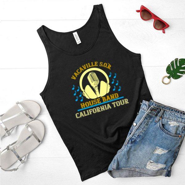 Vacaville S.O.R House Band California Tour T Shirt