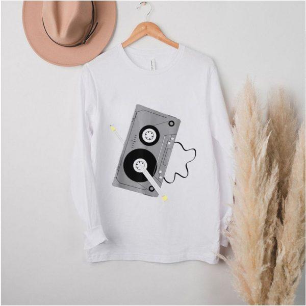 White Standard Corgi When All Else Fails Turn Up Music Dance With Your Corgi T shirt (3)