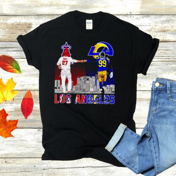 Los Angeles city champions Trout and Donald shirt