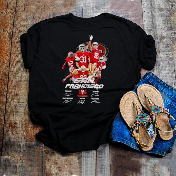 San francisco 49ers trey lance jamhuri jimmy garoppolo nick bosa fred warner shirt