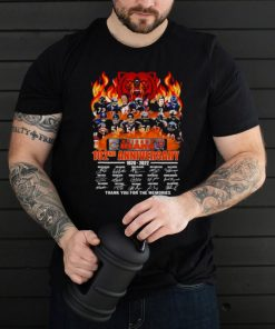 Chicago Bears 120ND anniversary 1920 2022 thank you for the memories signatures shirt