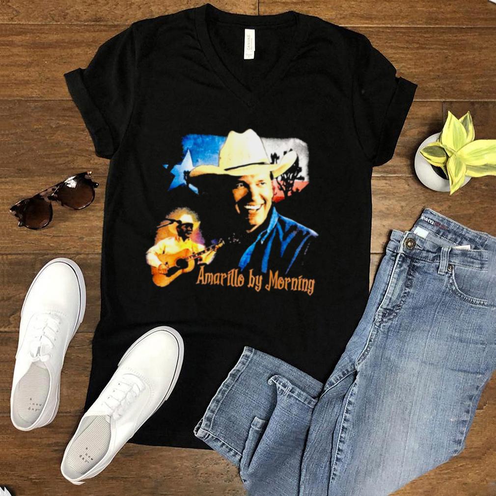 Graphic Damn Strait Lyrics American Singer Retro George Arts shirt
