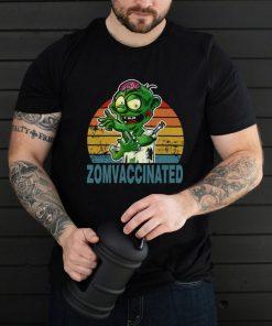 Halloween 2021 Zombie Vaccinated shirt