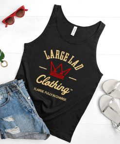 Large Lad Clothing Xlarge Fully In Charge T shirt