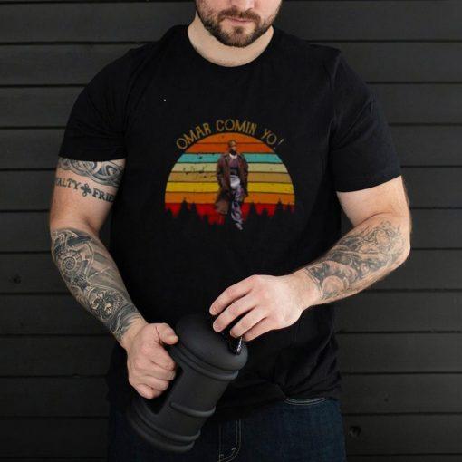 Michael K. Williams Omar Is Coming Yo Vintage Shirt