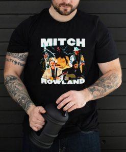 Mitch Rowland Printed Graphic RAP Hip hop T shirt