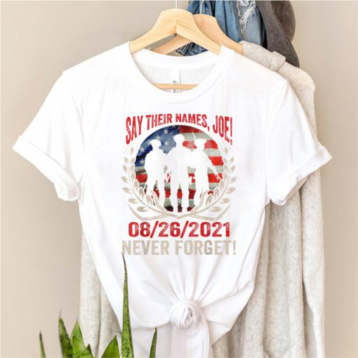 Say their names Joe names of fallen soldiers 13 heroes T Shirts