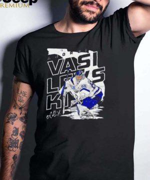 Tampa Bay Lightning Andrei Vasilevskiy player map signature shirt
