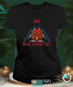 Halloween Mad Scientist Evil Genius T Shirt 6