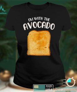 Im with the Avocado Toast Halloween Costume Shirt Shirt