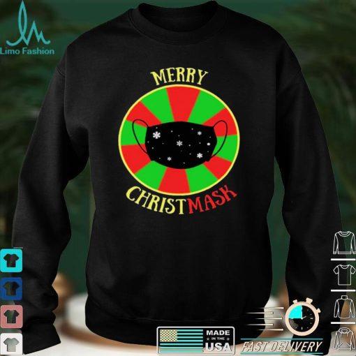 Merry Christmask Quarantine Christmas Essential T shirt