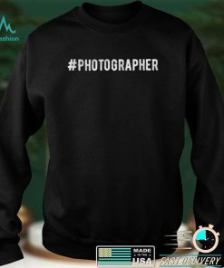 Official Photography Tshirt Camera Develop Film Images T Shirt