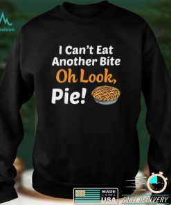 Official Pumpkin Pie Thanksgiving Food Family Funny T Shirt