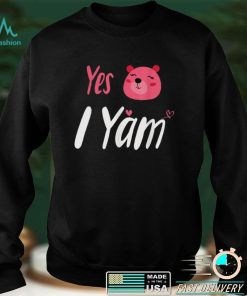 Official Shes My Sweet Potato I Yam Thanksgiving Couples Matching T Shirt 2