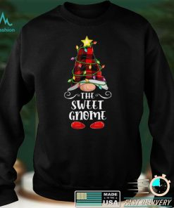 Official The Sweet Gnome Matching Family Group Christmas Pajama T Shirt