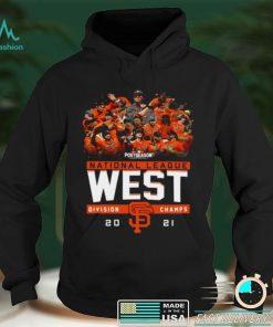 San Francisco Giants Postseason National League West Division Champs Shirt